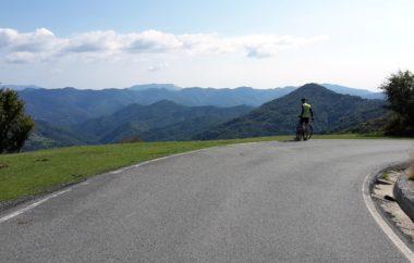 Saisonausklang in Ligurien   Erdrutsch Abenteuer reisen touren herbst Rennradreise Reise Ligurien Italien Chiavari