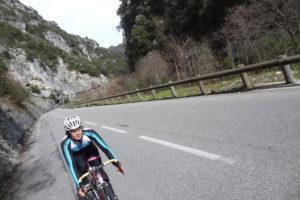 Saisonstart an der Côte dAzur training rennen reisen touren fruehling Seealpen Frühling Frankreich Côte dAzur