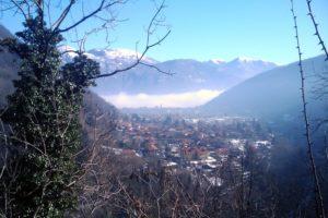 Winterflucht ins Centovalli winter reisen touren Wintertraining Tessin Schweiz Rundfahrt Rennradtour Italien