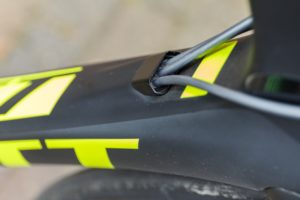 Und es ist ein... Scott Foil tests technik Test Schaltung Rennrad Komponenten