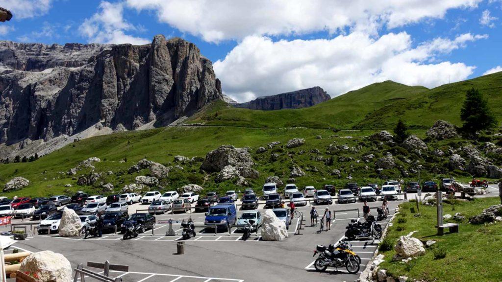 Verkehrsfreier Mittwoch am Sellajoch sommer reisen touren allgemein