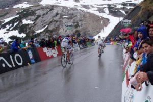 Giro dItalia 2018 – Streckenpräsentation training rennen Radrennen Italien Giro dItalia Apennin Alpen