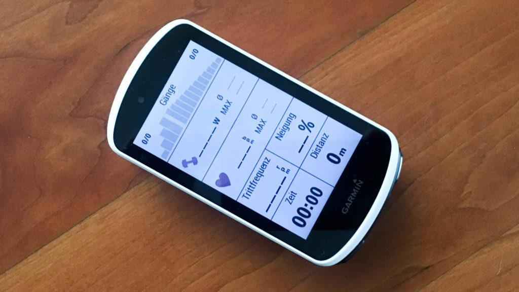 Garmin Edge 1030 Erfahrungen tests technik Test GPS Garmin Erfahrungen