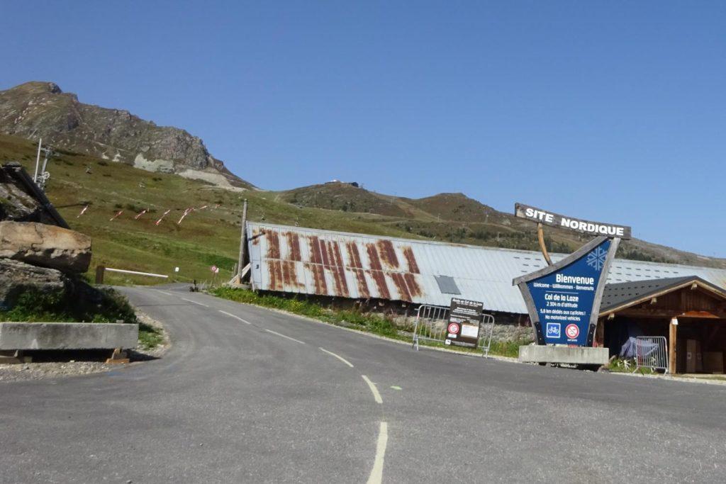 Col de la Loze Ein Pass nur für Radfahrer sommer reviere reisen touren