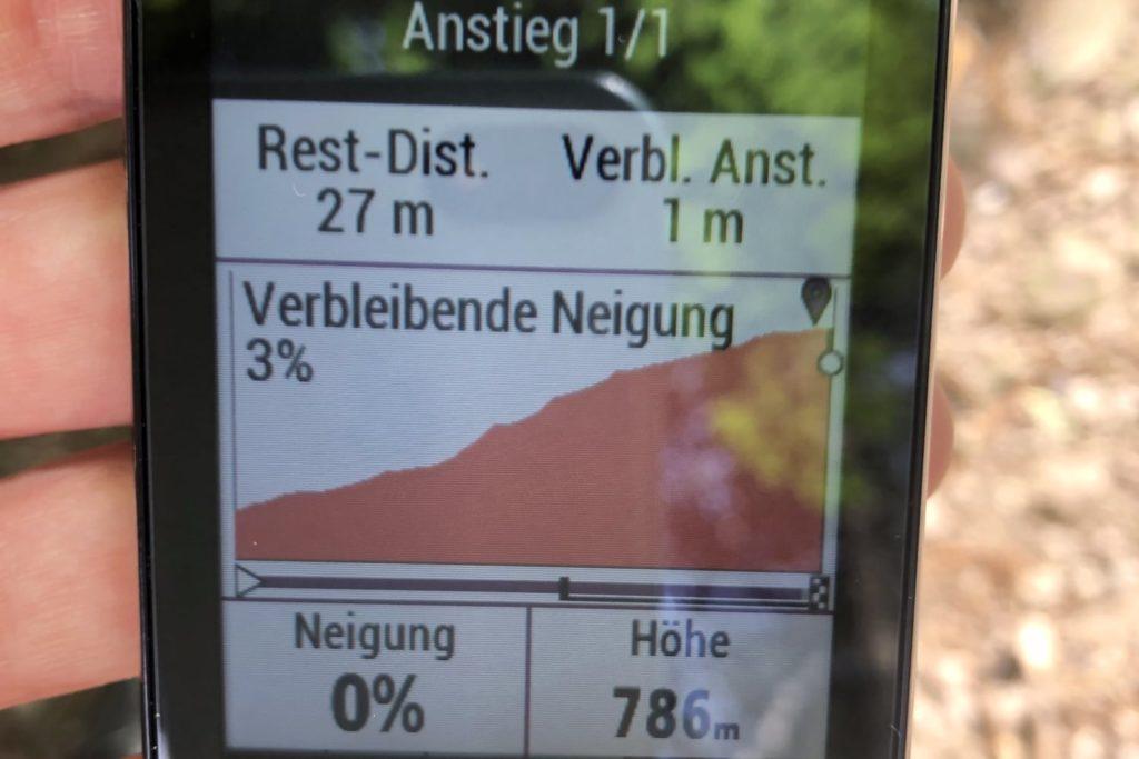 Garmin Edge 830 Test allgemein GPS Garmin Edge